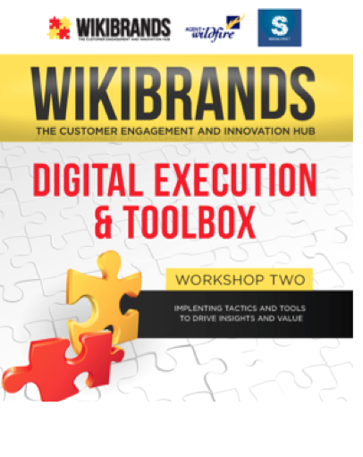 Wikibrands Workshop – Digital Execution & Toolbox