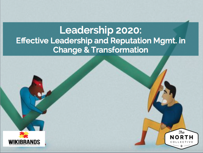 Leadership 2020: Effective Leadership and Reputation Management in Change & Transformation