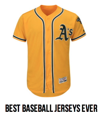 Best Baseball Jerseys Ever