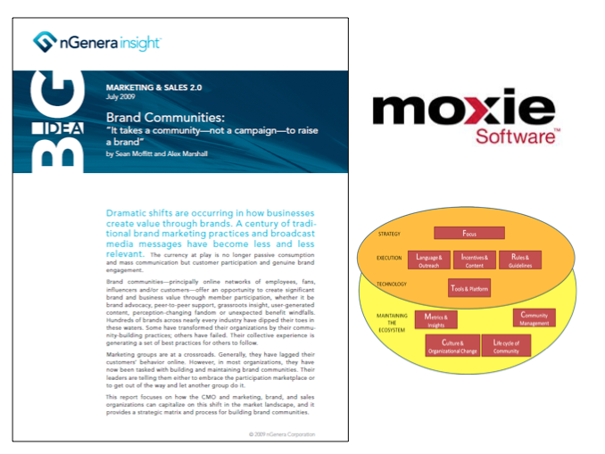 Online Communities & Brand Engagement with Moxie Software and nGenera