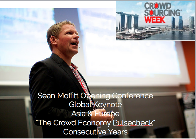 Crowdsourcing Week – Sean Moffitt Global Keynotes