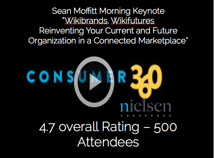 "Nielsen Consumer 360 Keynote – Wikibrands, Wikifutures ""The Next Big Thing"""