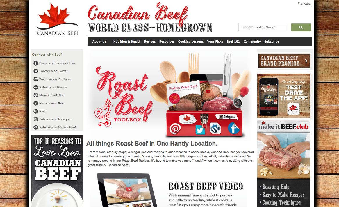 Canadian Beef – Accelerating their Digital/Social Brand