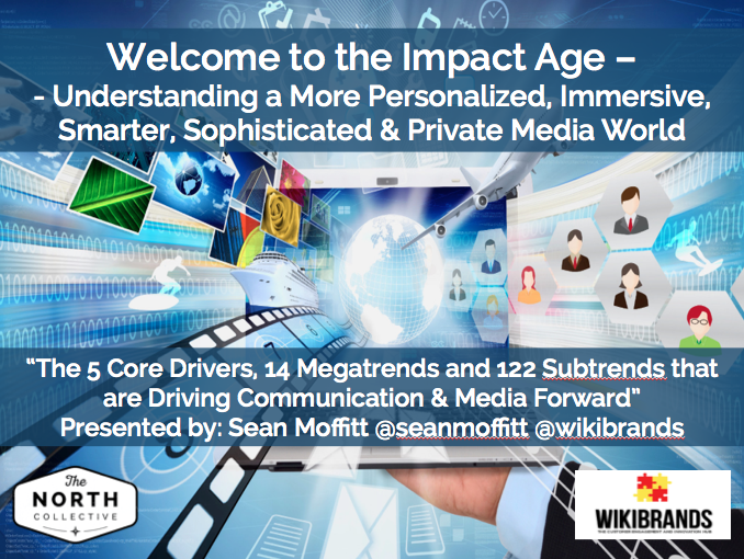 Welcome to the Impact Age – Understanding  More Personalized, Immersive, Smarter, Sophisticated & Private Media World