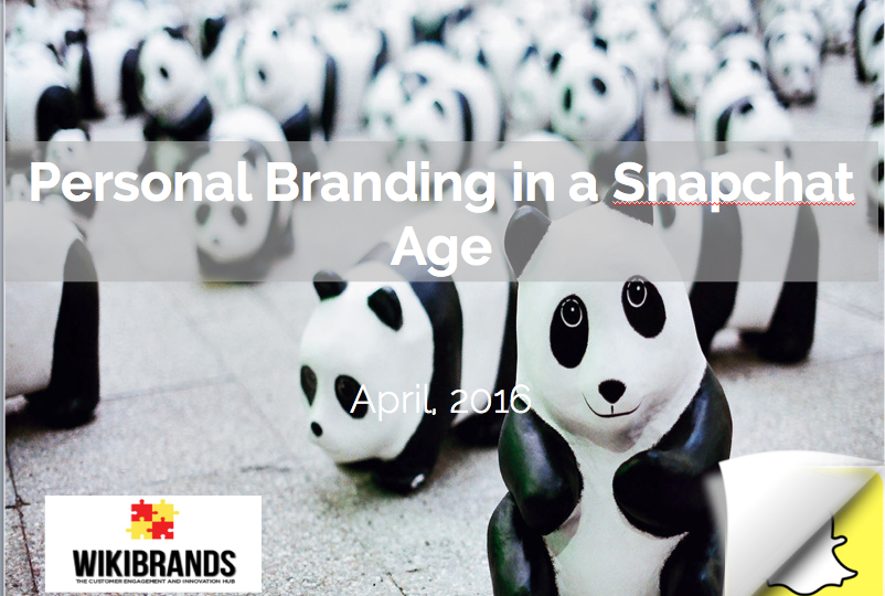 Personal Branding in a Snapchat Age
