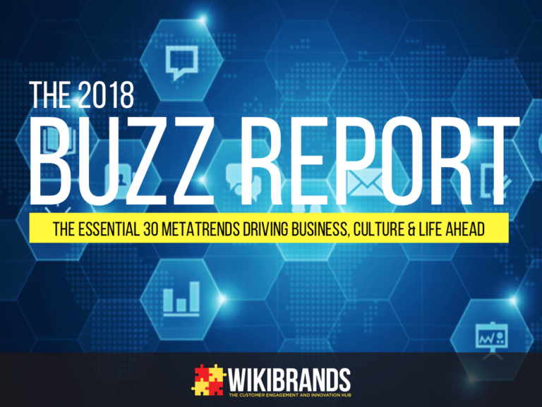 The 2018 Buzz Report – The Essential 30 Metatrends Driving Business, Culture and Life Ahead