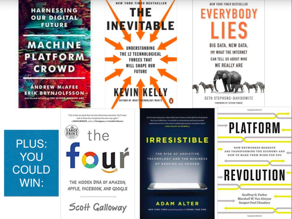 Six technology books to Win